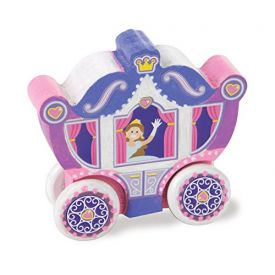 Melissa and Doug Decorate-Your-Own - Wooden Princess Carriage