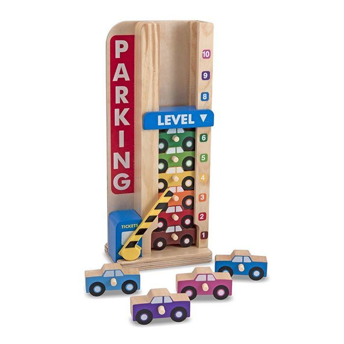 Melissa and Doug Stack and Count Parking Garage Toy