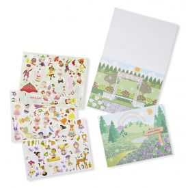 Melissa and Doug Scratch And Sniff Sticker Pad • Floral Fairies