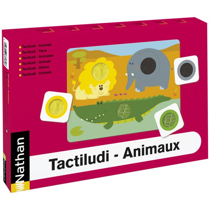 Nathan - Tactile animals