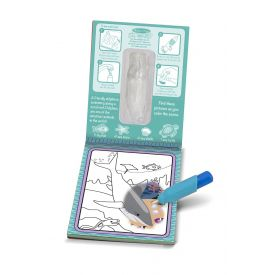Melissa & Doug - On the Go Water Wow! Water-Reveal Activity Pad - Under the Sea