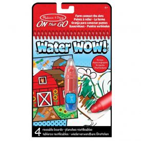 Melissa & Doug - On the Go Water Wow! Connect the Dots Water Reveal Pad