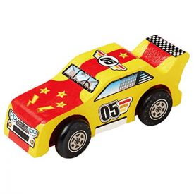 Melissa & Doug - Decorate-Your-Own Wooden Race Car Craft Kit