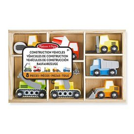 Melissa and Doug 13180 -  Wooden Construction Site Vehicle