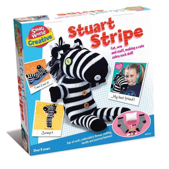 Stuart Stripe Make Your Own Sock Doll