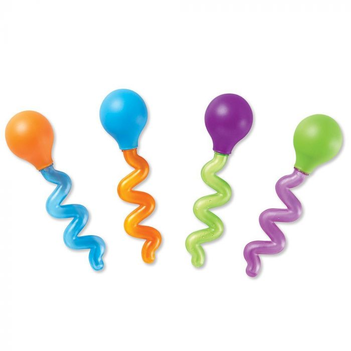 Learning Resources Twisty Droppers (Set of 4)