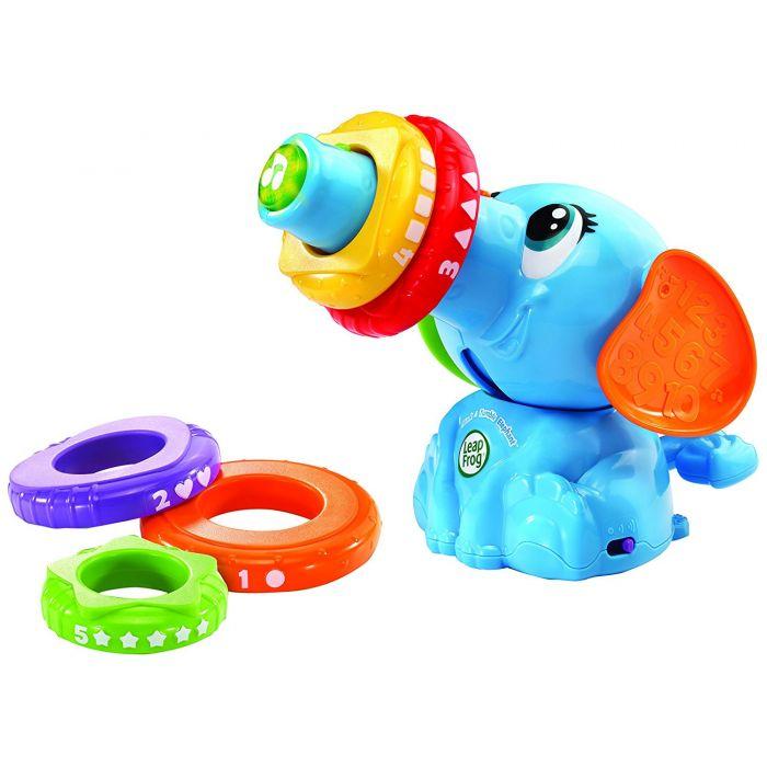Leap frog stack & tumble elephant