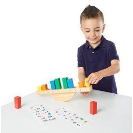 Melissa & Doug Rainbow Balance Wooden Educational Toy