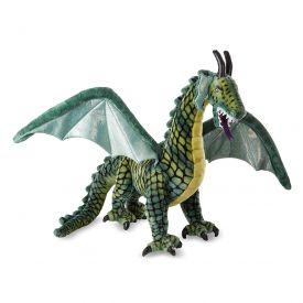 Melissa & Doug Lifelike Plush Giant Winged Dragon Stuffed Animal (36 x 40.5 x 16 in)