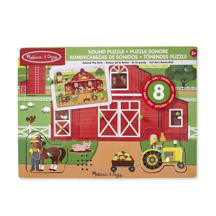 Melissa & Doug Farm Sound Puzzle