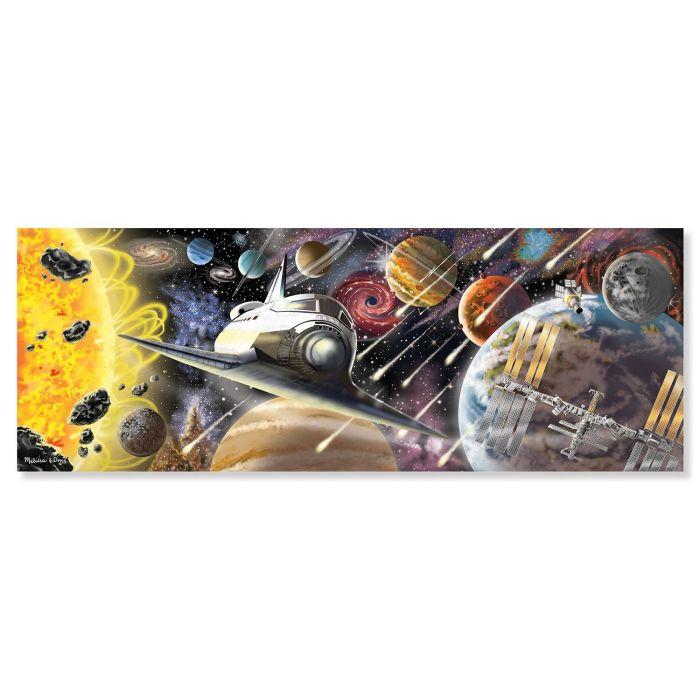Melissa & Doug Exploring Space Jumbo Jigsaw Floor Puzzle (200 pcs, over 1 meter long)