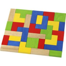 Wooden Shape Stacking Puzzles