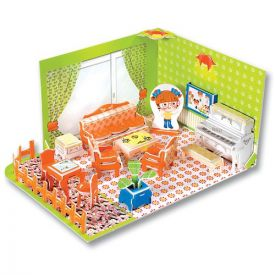 3D Modellogic - Annie's Apartment - Living Room