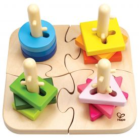 Creative Toddler Wooden Peg Puzzle