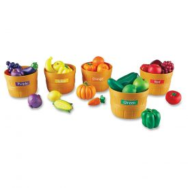 Learning Resources Farmer's Market Color Food Sorting Set