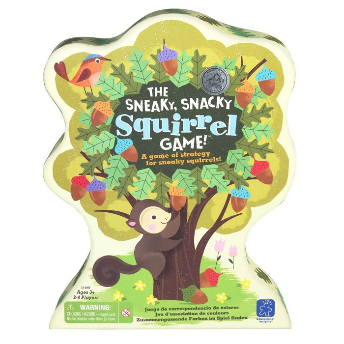 The Sneaky, Snacky Squirrel Game