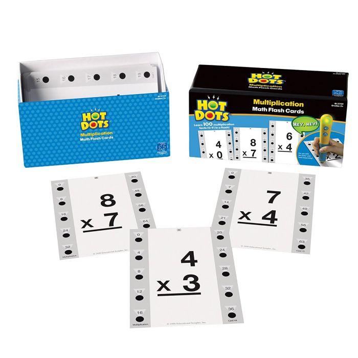 Hot Dots Maths Multiplication Cards