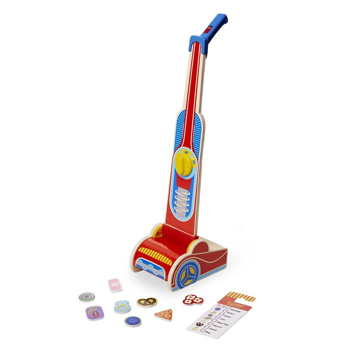 Melissa and Doug Vacuum Cleaner Wooden Play Set