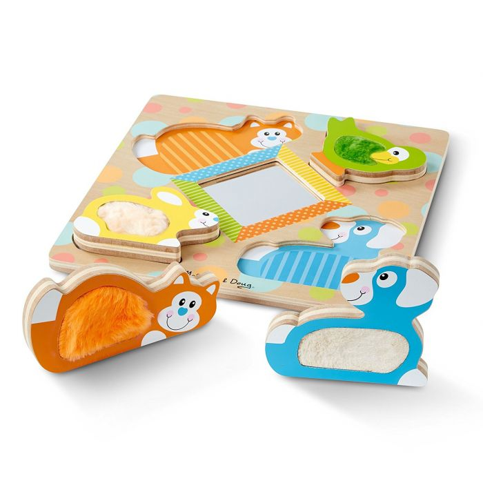 Melissa & Doug Touch and Feel Puzzle