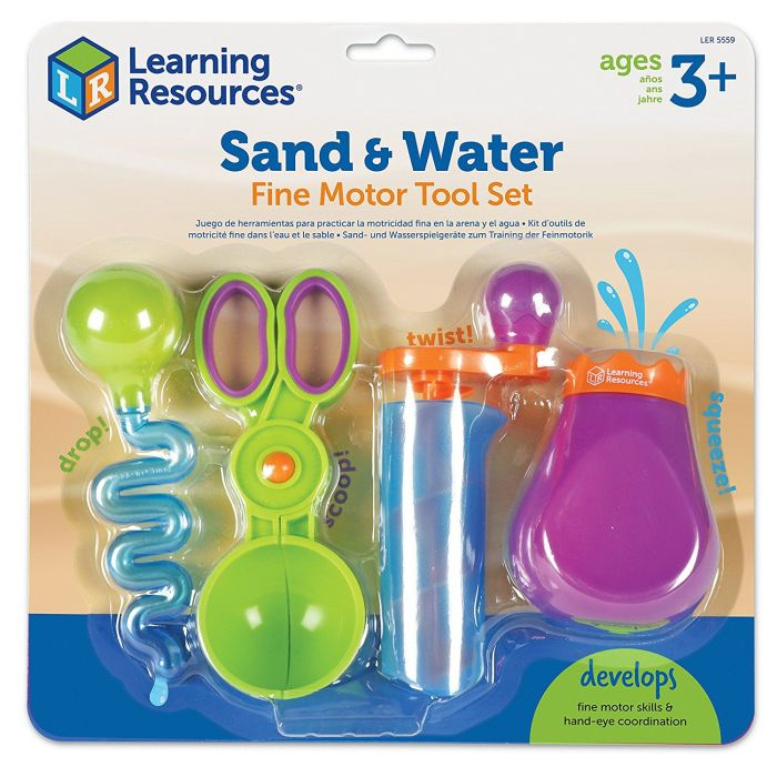Learning Resources - Sand and Water Fine Motor Tool Set