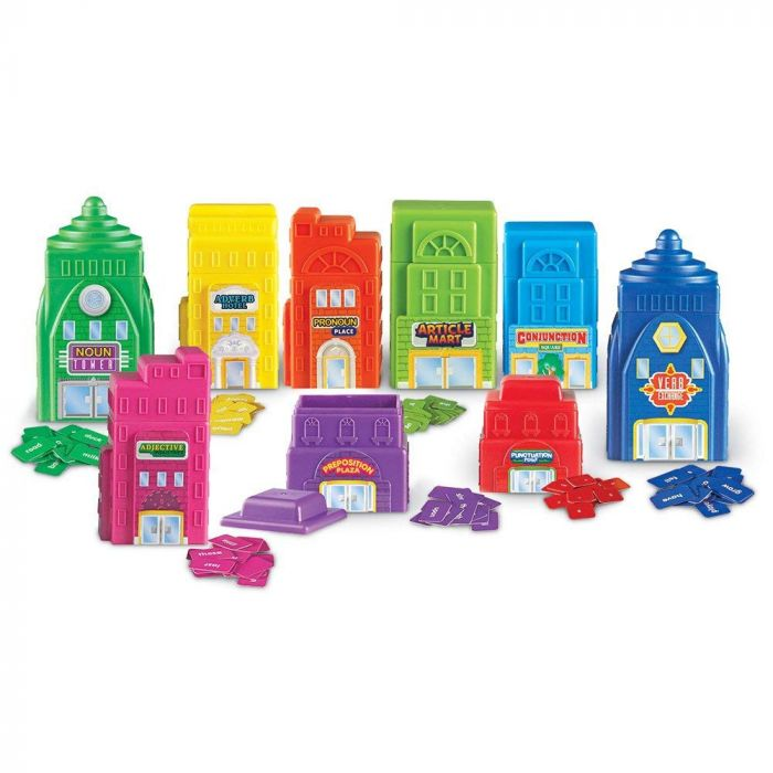 Learning Resources Sentence Buildings Parts of Speech Activity Set