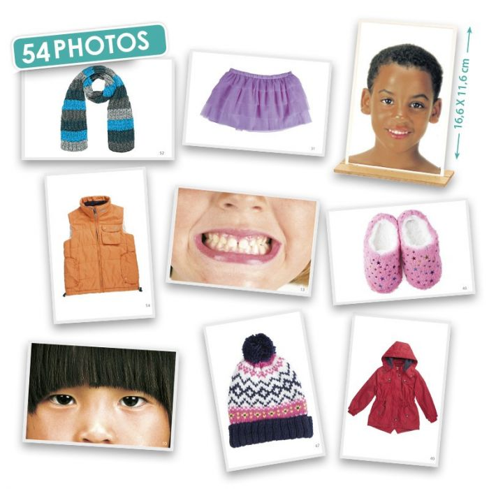 Body Parts and Clothes Photographs