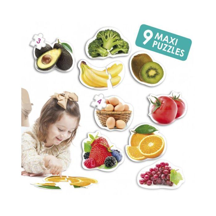 Maxi Puzzles Healthy Food