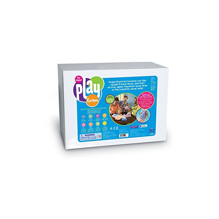 Learning Resources Playfoam Class Set 16 Super Sized pieces