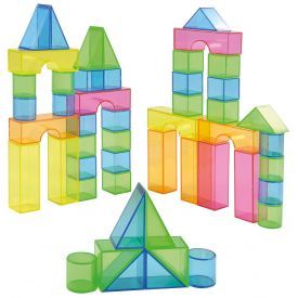 Transparent Blocks 50 Parts