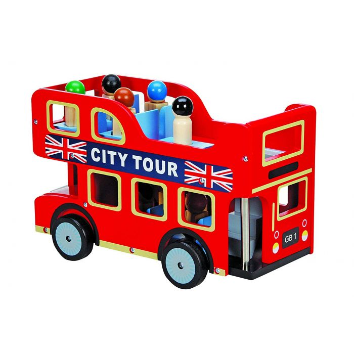 Wooden City London Bus Toy