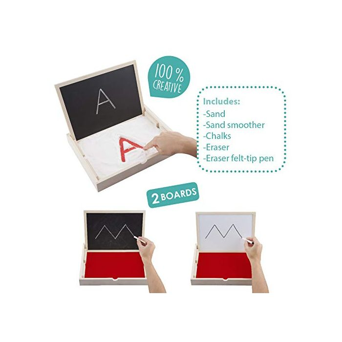 Multi-Sensory Pre-Writing Tray and Board