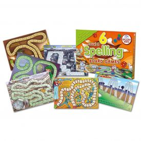 Spelling Board Games Level 2