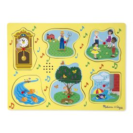 Melissa and Doug Nursery Rhymes Sing Along  Sound Puzzle