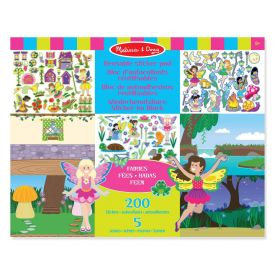 Melissa and Doug Fairies Reusable Pad with 200+ Stickers