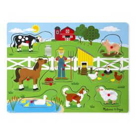 Melissa and Doug Old Macdonald's Farm Sound Puzzle (8 Piece)