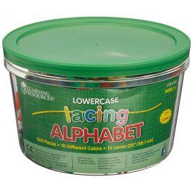 Lowercase Lacing Alphabet