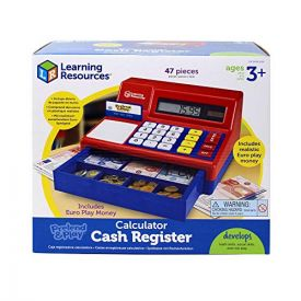 Pretend and Play Cash Register with Euro Play Money