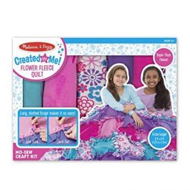 Melissa and Doug Created by Me-Flower Fleece Quilt