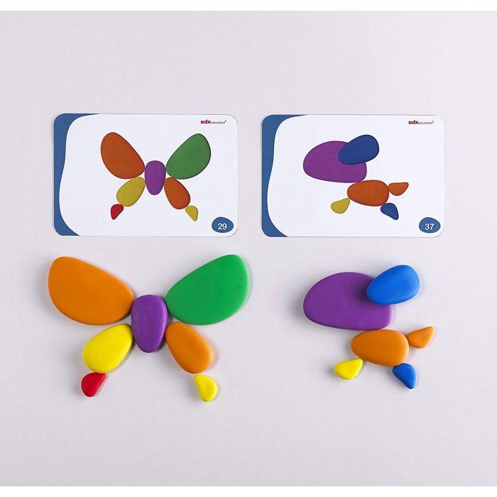 Rainbow Pebbles 36 pieces