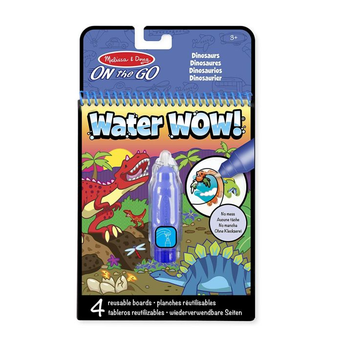 Melissa and Doug On The Go Water Wow Dinosaurs