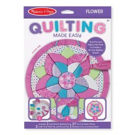 Melissa and Doug Quilting Made Easy Flower Set