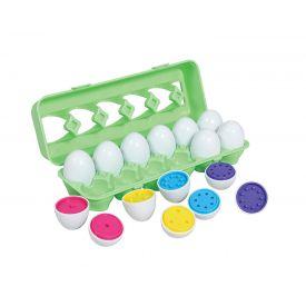 Colour Match Egg Set, 12 Pieces