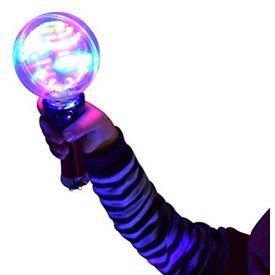 Sensory Light-Up Spinning Ball Wand