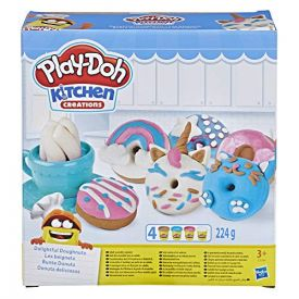 PlayDoh Kitchen Creations Delightful 4 Colour Donuts Set