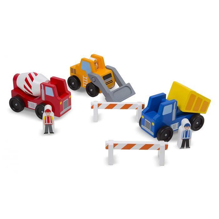 Melissa and Doug Construction Vehicle Set