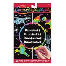 Melissa and Doug Scratch Art Dinosaurs