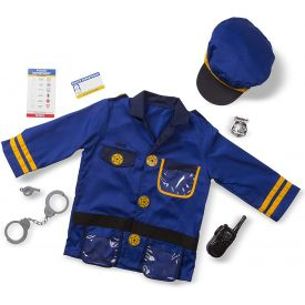 Melissa and Doug Police Officer Role-Play Costume Set
