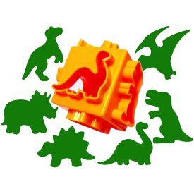 Cutter Cubes Dinosaur Dough