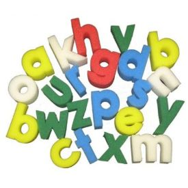 Lower case Alphabet Sponge Painting Set