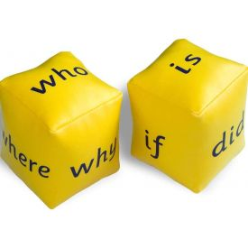 Ask a Question Dice Set of 2